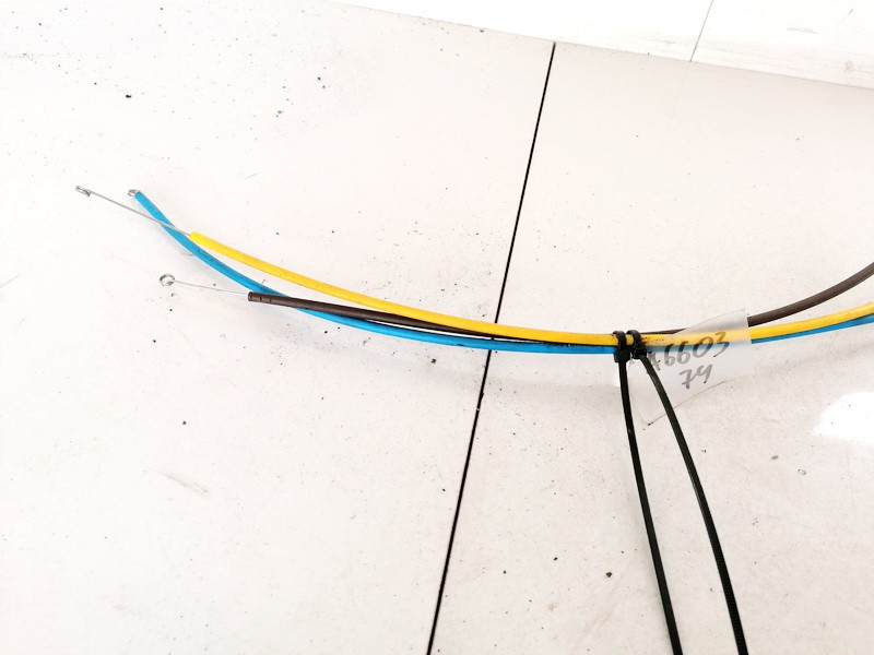 Black Heater Actuator Blend Cable Volkswagen Polo 1998    1.7 USED