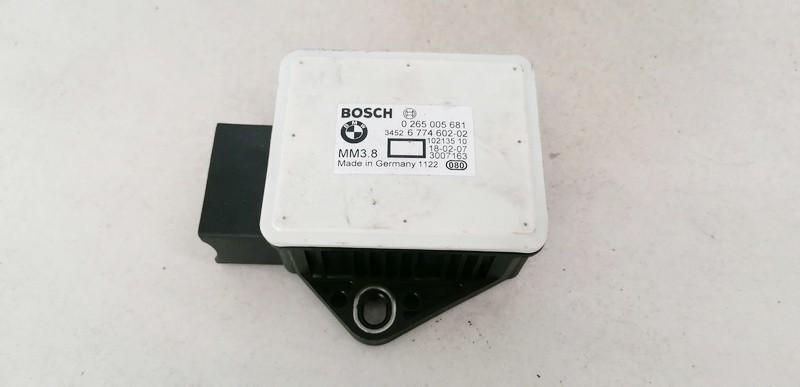 Esp Accelerator Sensor (ESP Control Unit) BMW 5-Series 2005    2.0 0265005681