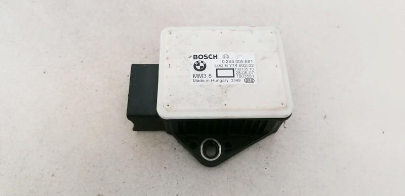 Esp Accelerator Sensor (ESP Control Unit) BMW 5-Series 2004    2.0 0265005681