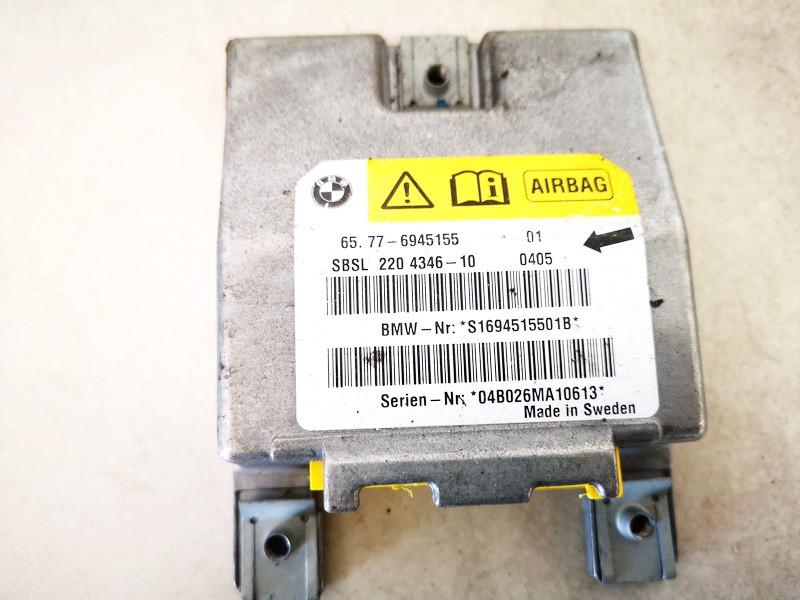 Airbag crash sensors module BMW 5-Series 2005    0.0 65776945155