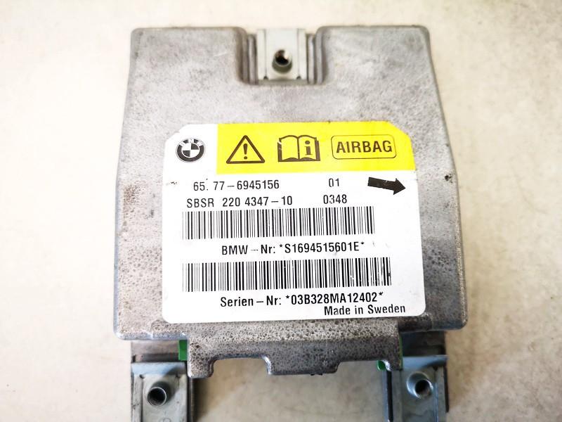 Airbag crash sensors module BMW 5-Series 2005    0.0 65776945156