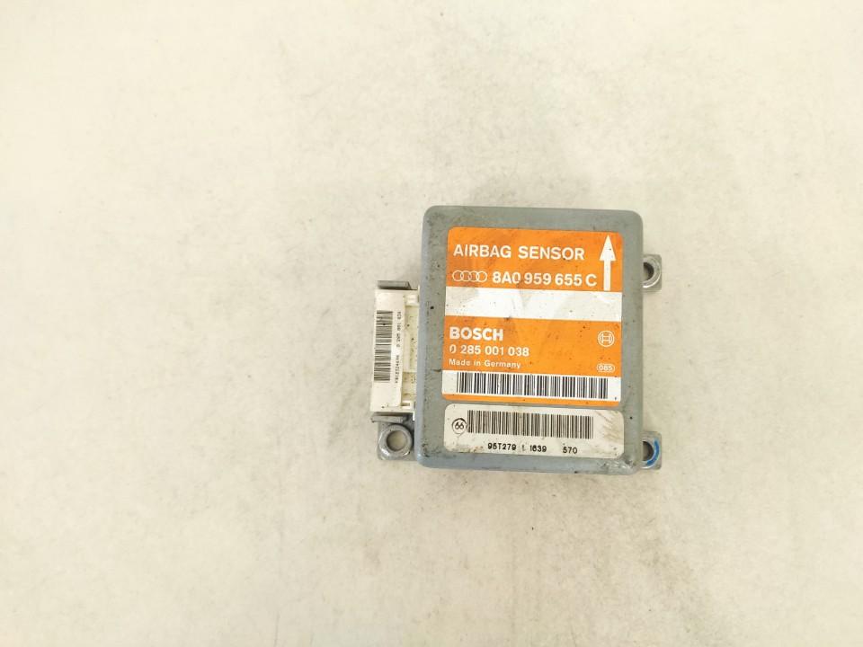 Airbag crash sensors module Audi A4 1995    1.8 8a0959655c