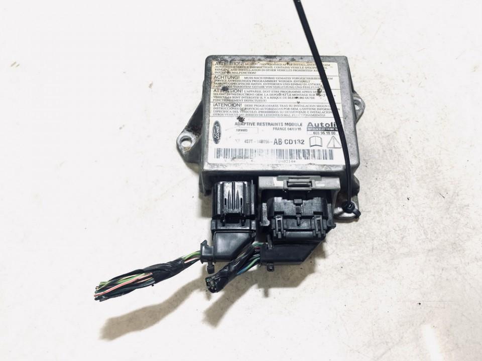Airbag crash sensors module Ford Mondeo 2004    2.0 4s7t14b056ab