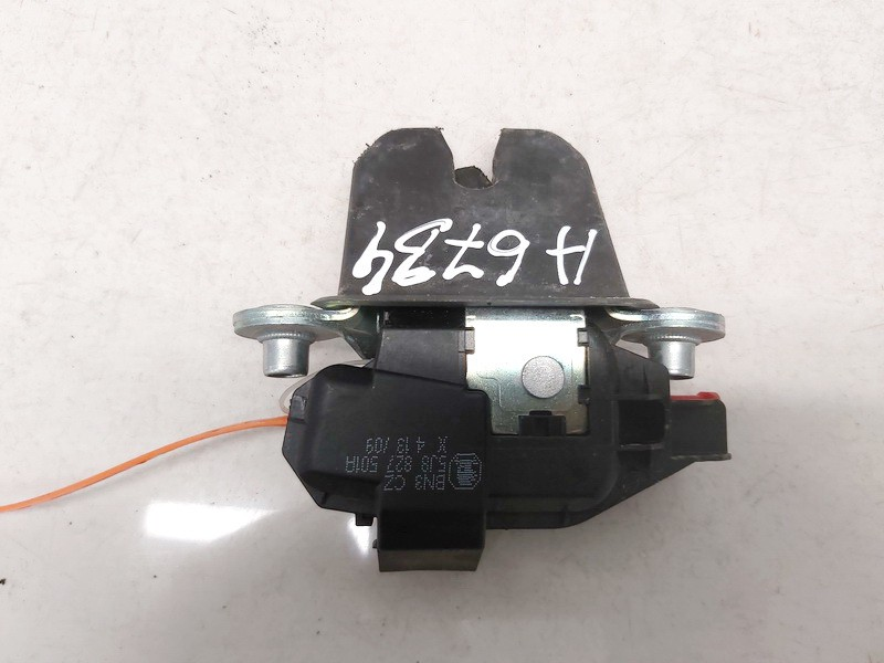 5j8827501a used Rear Trunk Lid Lock Latch Skoda Roomster 2009 1.2L 41EUR EIS01204468