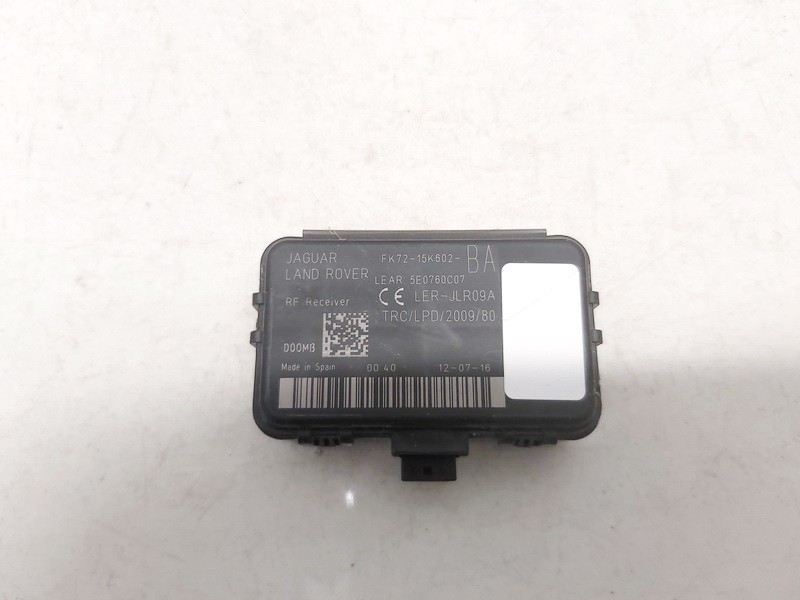 fk7215k602ba fk72-15k602-ba Other computers Land-Rover Discovery Sport 2017 2.0L 45EUR EIS01204480