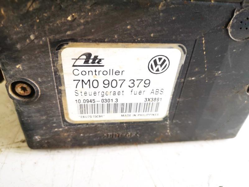 ABS Unit (ABS Brake Pump) Volkswagen Sharan 1997    1.9 7m0907379