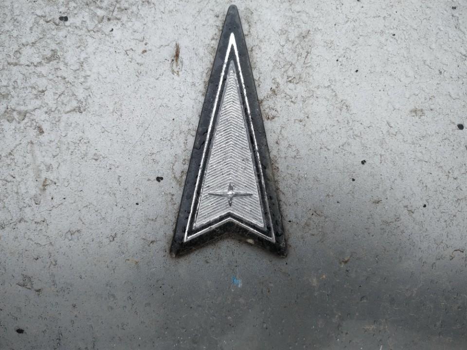 Priekinis zenkliukas (Emblema) Pontiac Trans Sport 1994    2.1 used