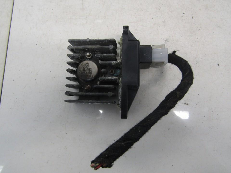 Heater Resistor (Heater Blower Motor Resistor) Skoda Octavia 2011    1.6 30864189