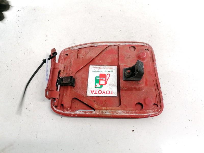 Fuel door Gas cover Tank cap (FUEL FILLER FLAP) Toyota Corolla 1989    1.3 USED