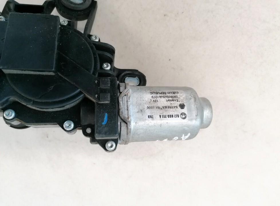 Rear wiper motor (Rear Screen Wiper Engine) Skoda Roomster 2009    1.2 5j7955711a