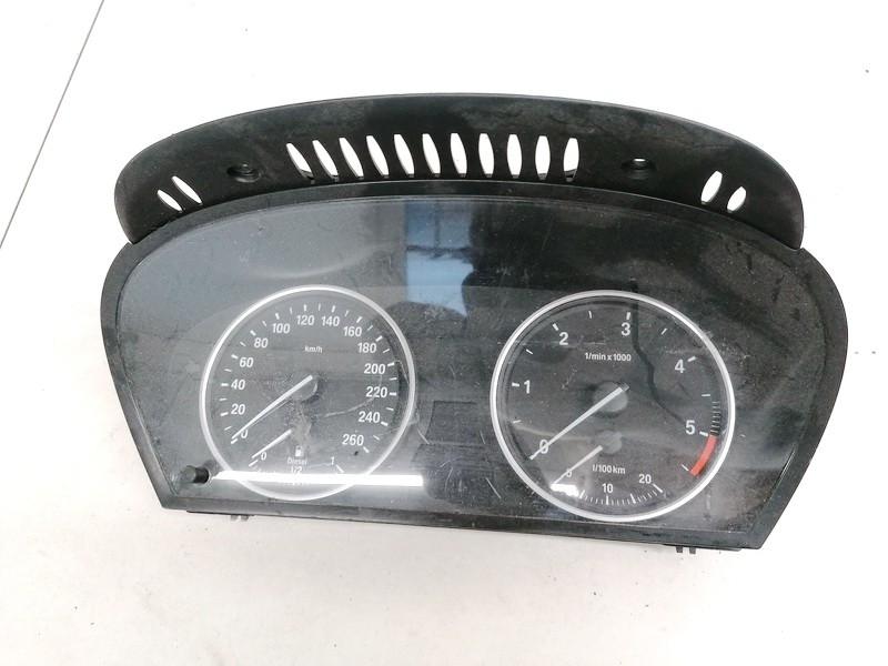 Spidometras - prietaisu skydelis BMW 5-Series 2005    2.0 62119153755