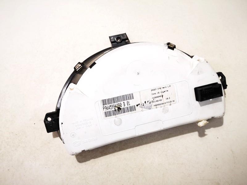 Spidometras - prietaisu skydelis Citroen C3 2004    1.6 p9645994280