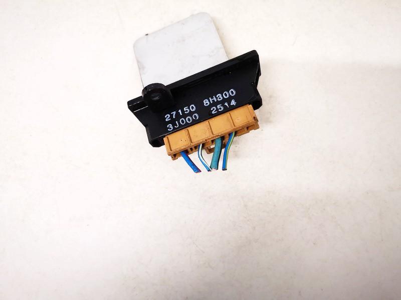 Heater Resistor (Heater Blower Motor Resistor) Nissan Almera Tino 2002    2.2 271508h300