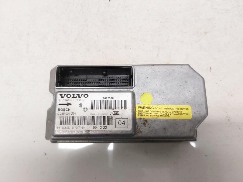 Airbag crash sensors module Volvo S80 2000    2.5 0285001254