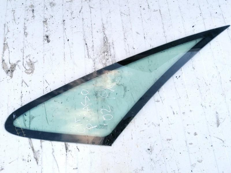 Front Left side corner quarter window glass  Citroen Xsara Picasso 2002    0.0 USED