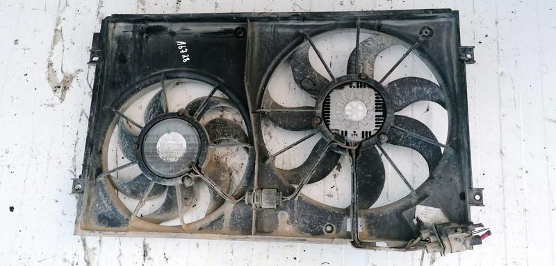 Diffuser, Radiator Fan Volkswagen Touran 2003    1.9 USED