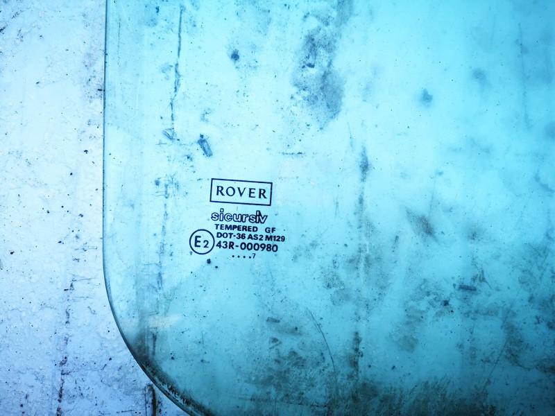 Door-Drop Glassrear left Rover 200-Series 1997    1.6 used