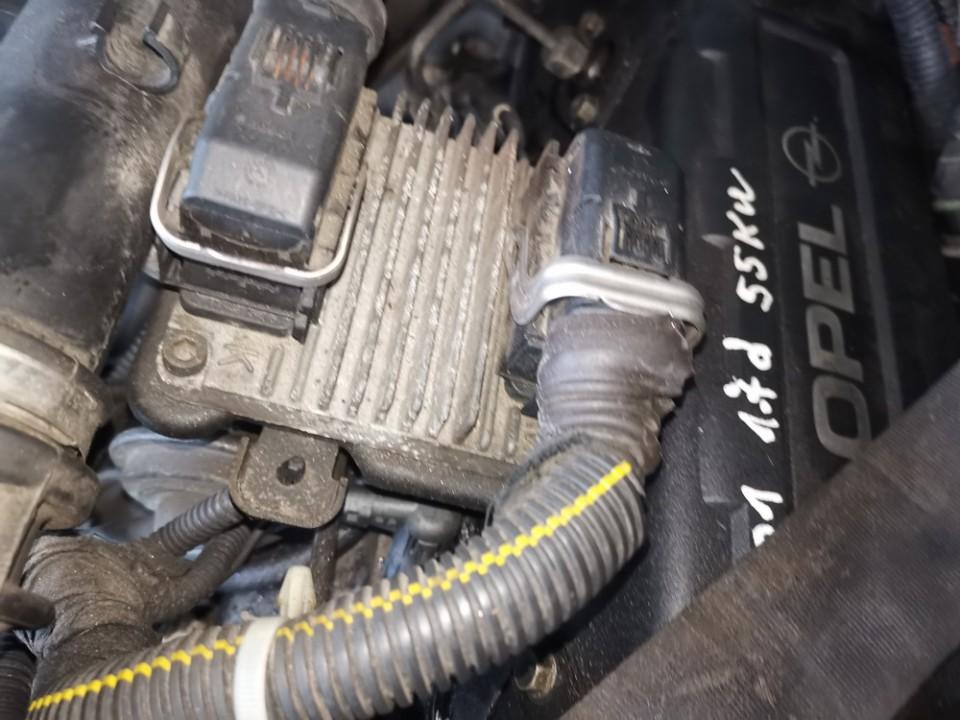ECU Engine Computer (Engine Control Unit) Opel Astra 2001    1.7 09391249