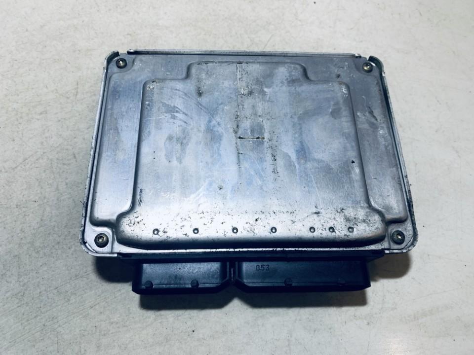 ECU Engine Computer (Engine Control Unit) Volkswagen Golf 2000    1.9 038906012l