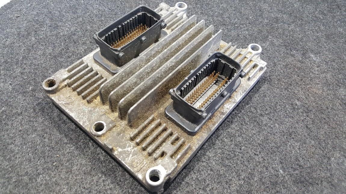 Блок управления двигателем 09391283 12202143 Opel ASTRA 2002 1.7