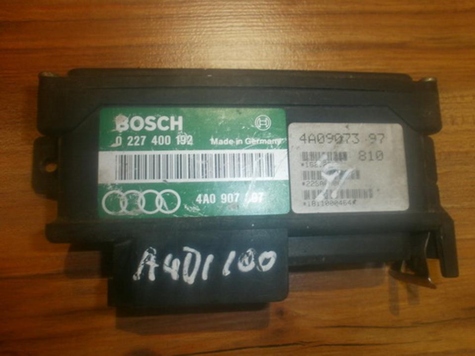 Kiti kompiuteriai 0227400192  4A0907397 Audi 100 1985 2.0