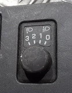 Кнопка корректора фар used used Nissan ALMERA 2002 2.2